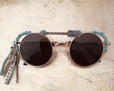 Western Cowgirl Wire Wrapped  Sunglasses