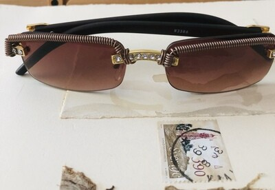 Women's Wire Wrapped Sunglasses