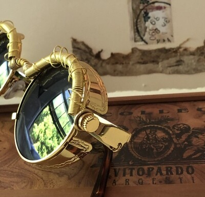 Wire Wrapped Steampunk Sunglasses