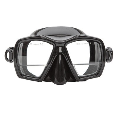 XS Scuba Gauge Reader Down View Design Mask