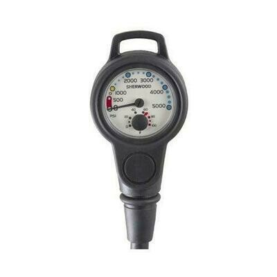 Sherwood Pressure Gauge With Hose and Boot
