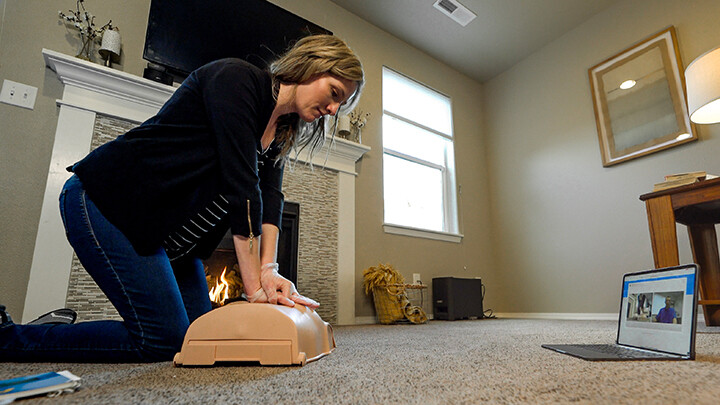 RSV Adult, Child, & Infant CPR/AED w/Loaner Manikin