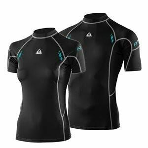 Waterproof Rash Guards Short Sleeve (Women's)