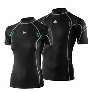 Waterproof Rash Guards Short Sleeve (Women's)