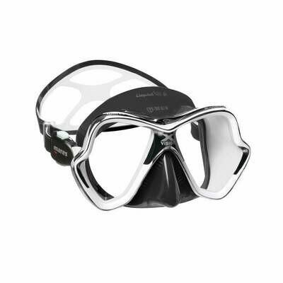 Mares X-Vision Chrome Liquidskin Mask