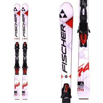 Fischer Motive 74 Powerrail Skis (170cm) w/ RS 10 Powerrail