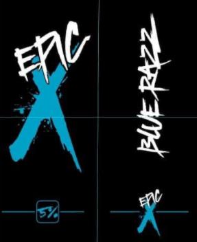 Epic X Blue Razz