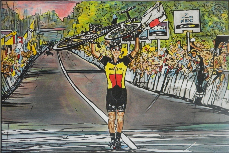 Philippe van Vlaanderen - Acrilico su tela 90x60