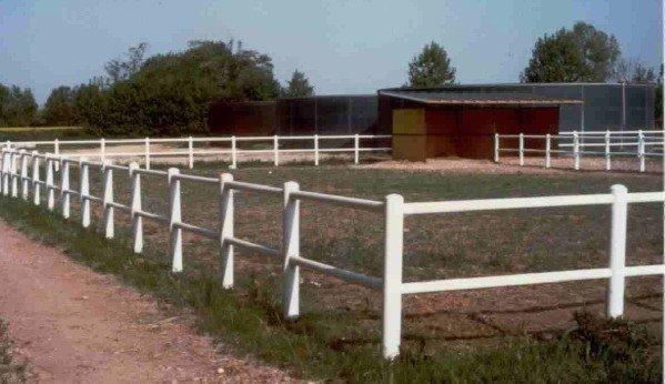 recinzione in pvc