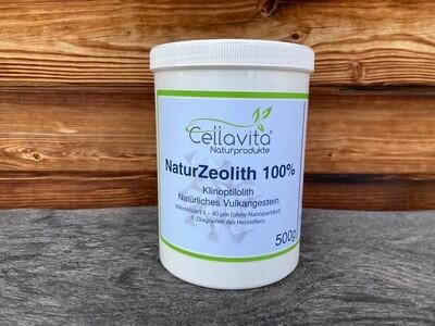 Natur Zeolith 100% - Natürliches Vulkangestein, 500g