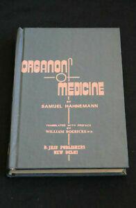 Organon of medicine translated by W Boericke*