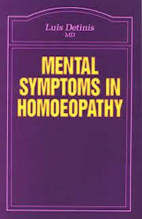 Mental Symptoms in Homoeopathy*