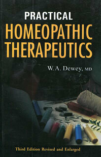 Practical Homeopathic Therapeutics*
