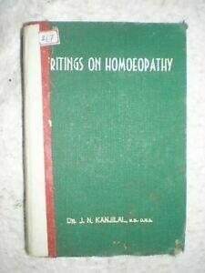 Writings on homeopathy*