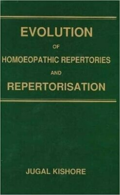 Evolution of Homeopathic Repertories*
