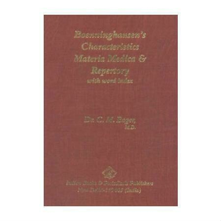 Boenninghausen's Materia Medica and Repertory*