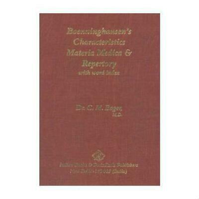 Boenninghausen's Characteristics and Repertory*