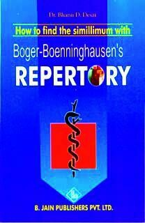 How to find the simillimum with Boger-Boenninghauses's Repertory*
