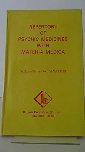 Repertory of the psychic medicines with Materia Medica*