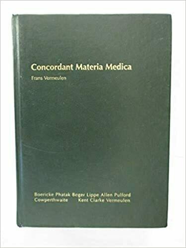 Concordant materia medica* 1st edition 1994