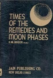 The times of the remedies and moon phases*