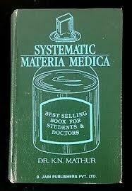 Systematic materia medica*