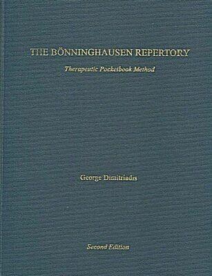 The Bonninghausen repertory: therapeutic pocketbook method*