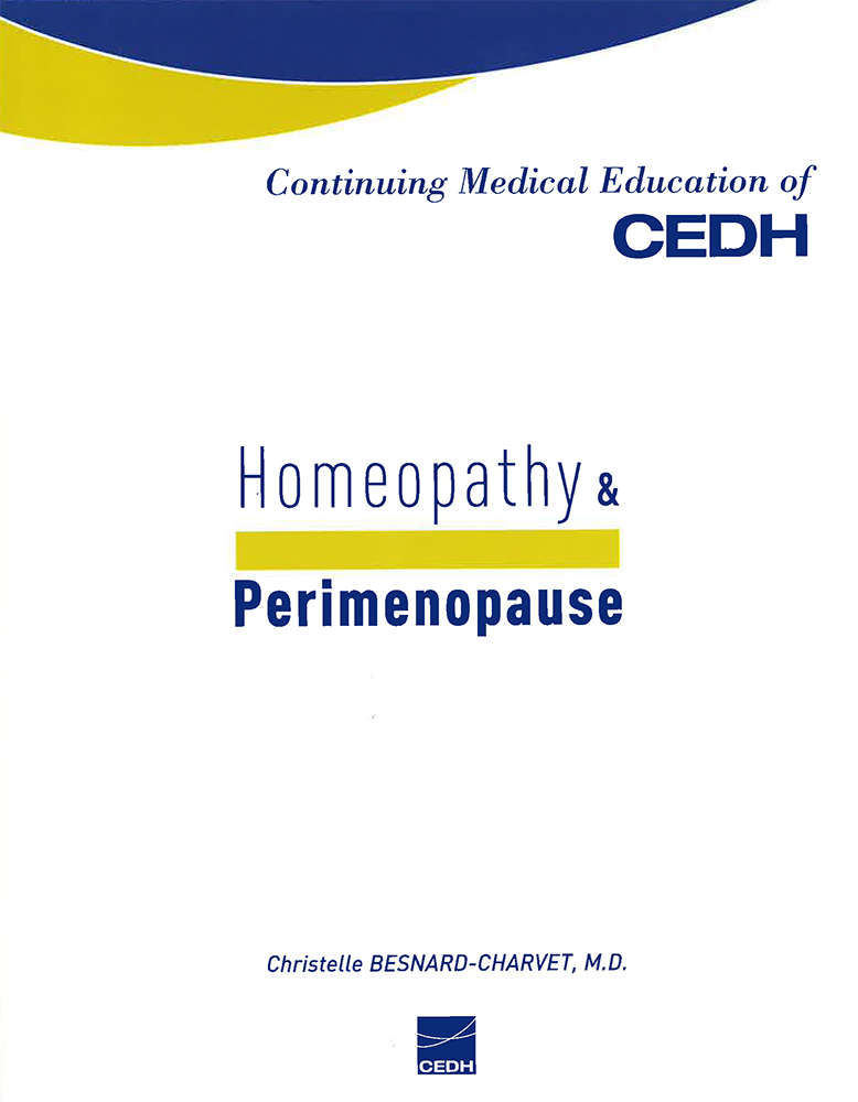 Homeopathy & perimenopause
