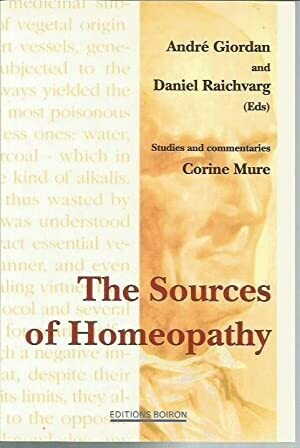 The sources of homeopathy: studies and commentaries*
