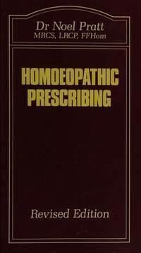 Homoeopathic prescribing*