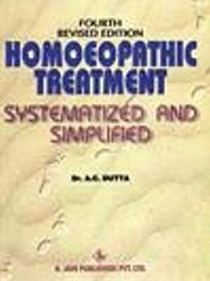 Homoeopathic treatment systematised and simplified with graphs and flowcharts 3rd edition*