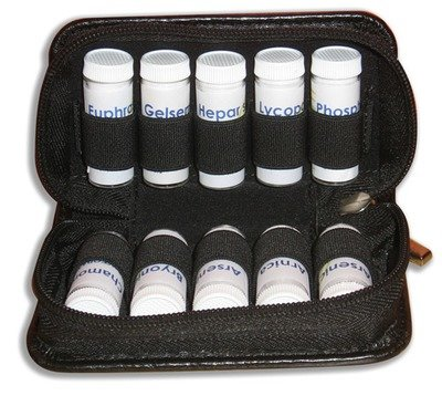 Travel Remedy Bag - Black - Small