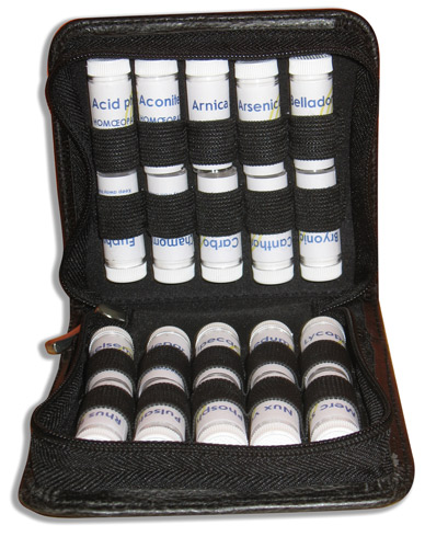 Remedy case for home or travel - Black - Large