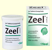 Zeel Homeopathic 50 tablets by Heel