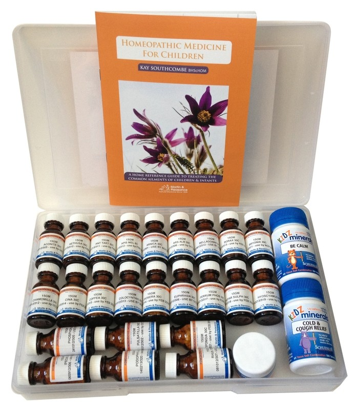 Homeopathic Remedy Box For Children