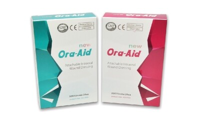 Intra-oral band aid _ Ora-Aid