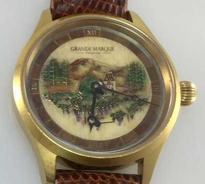 Wine themed watch - Third Edition