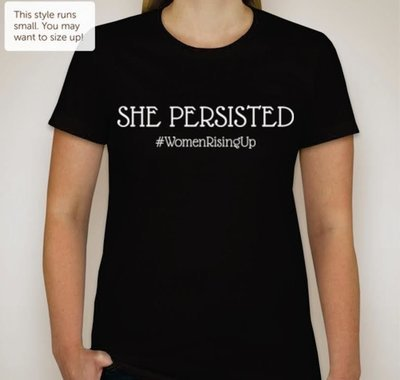 She Persisted Women's T