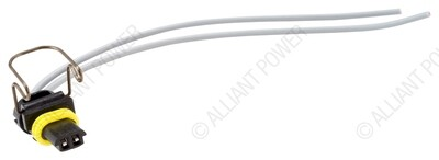Turbo Vane Actuator 2 Wire Pigtail - 2004-2012 6.6 Duramax and 2003-2010 6.0 Powerstroke