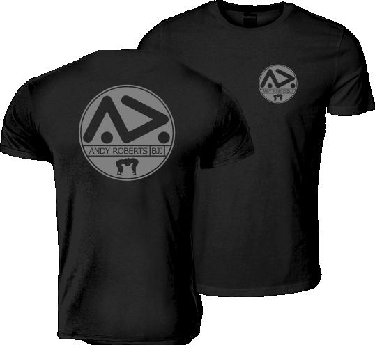 ARBJJ Grey Logo T-Shirt