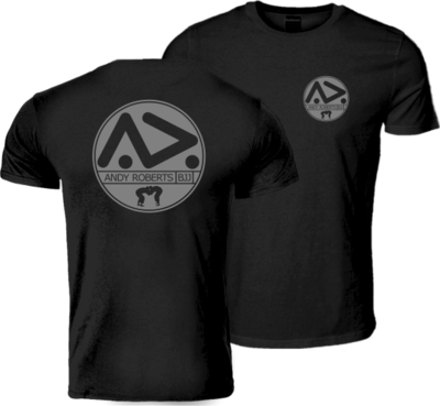 ARBJJ Grey Logo T-Shirt