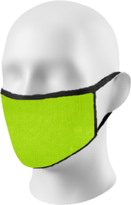 Lime Green Face Mask