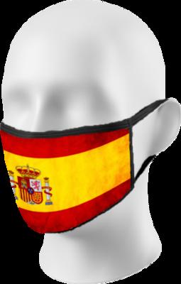 Spanish Flag Face Mask