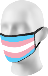 OutPride Trans Flag Face Mask