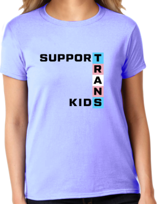 OutPride Support Trans Kids T-shirt
