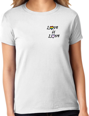 OutPride Love is Love T-shirt