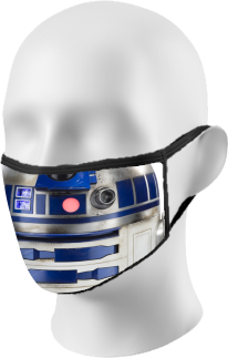 Star Wars R2D2 Face Mask
