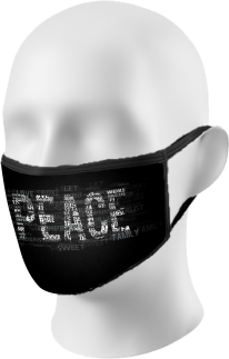 Peace Sign Face Mask