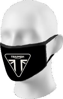 Triumph Logo Face Mask