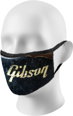 Gibson Logo Face Mask